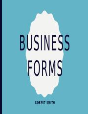 robert smith-Business Forms.pptx