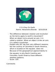 2.2 A Day On Earth.docx