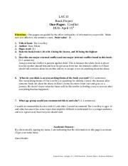 LAC II_One Pager - Conflict1.docx Alana Murphy.docx