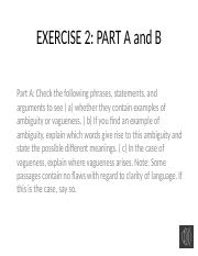 Lecture 4 Chap. 3 Exercise 2 pp. 69ff