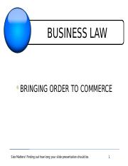 Flex Chapter A - Business Law (1).pptx