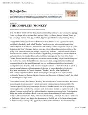 THE COMPLETE 'MONKEY' - The New York Times.pdf