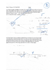 Quiz 5 Physics 132