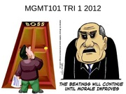MGMT101 TRI 1 2012