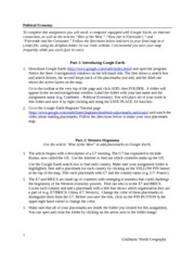 Week 3 - WORKSHEET -  Political Economy