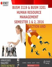 6 BUSM 3119 & 3201 TALENT ATTRACTION & SELECTION WEEK 6_20032016.ppt