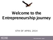 ENTREPRENEUR SESSION 8