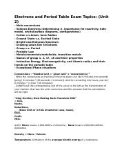 Chemistry S1 - Test 2 Study Guide .docx