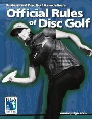 discgolfrules