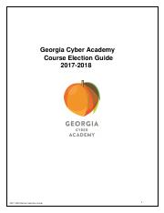 GCA Elective Selection Catalog 17-18_FINAL