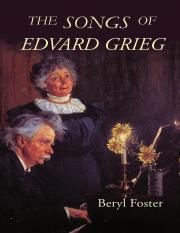 Beryl Foster-The Songs of Edvard Grieg (2007)