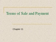 11 Terms of Sale Payment New Incoterms 2010
