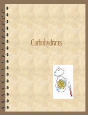 5.Carbohydrates