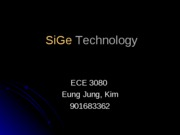 7-1223-SiGe (Silicon Germanium) HBT technology
