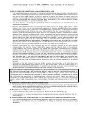 Topic Summary 4 (Public International and Municipal Law).pdf