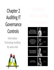 Chap02 Auditing IT Gov. Controls - MWF5 - Outsourcing IT Function.pptx