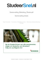 Samenvatting_Marketing_Sheets