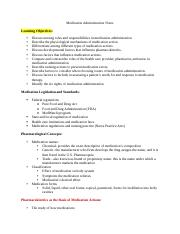 Medication Administraion Notes.docx