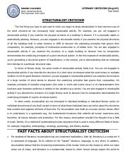 Structuralist Criticism Fact Sheet.pdf
