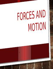 Forces and motion grade 8.pptx