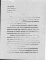 AmLit Reflection Essay
