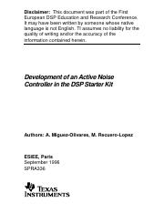 Active Noise Control Using DSP.pdf