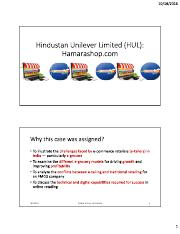 HUL Case Discussion.pdf