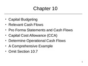 Class 10_Capital Budgeting