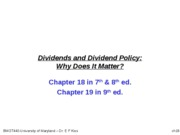 BMGT440ch1819-Dividends