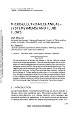 III+MEMS+and+Fluid+Flows