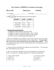 Fall 2012 Midterm 3