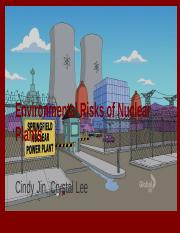 Environmental Risks of Nuclear Plants