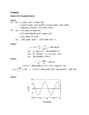 Chapter 10 - Sinusoidal Steady-State Analysis