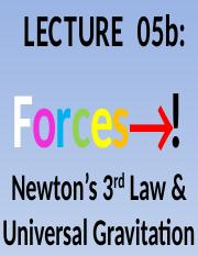 Lecture+05b+Forces+N3++UniversalGravitation+StudentCopy.pptx