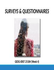 GEOG 2510 Lecture 4 (Surveys & Questionnaires) F16.pptx