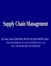 17_Supply Chain Management.ppt