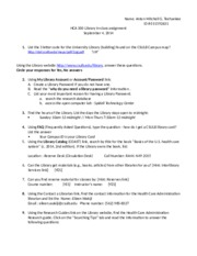 HCA 300 In-Class Assignment: Library Research Worksheet