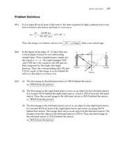 5_Ch 23 College Physics ProblemCH23 Mirrors and Lenses