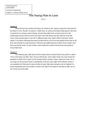 The Young Man in Love Ch.6-7 Summary.docx