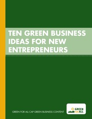 10greenbusinessideas-131203150501-phpapp01