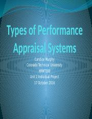 Types of Performance Appraisal Systems (P2 IP).pptx