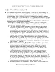 chapter 2,3-ratio and financial market