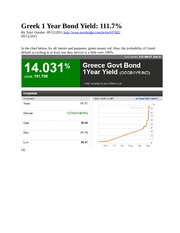 Class 6 Greek 1 Year Bond Yield (1)
