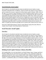 Social Networks_ Social Capital Research Paper Starter - eNotes.pdf