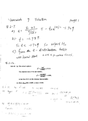 STAT 415 - Homework 9 Solution