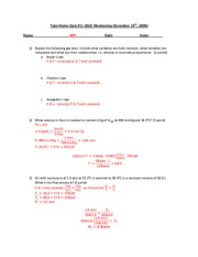 CHEM151Take-home Q11 Key