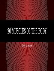 20 Muscles of the body.pptx