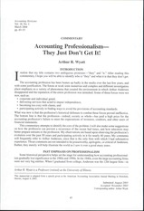 9:8 Accounting Professionalism