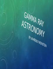 Gamma ray astronomy power point.pptx