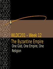 WLDC1 chapter 5 Byzantine Empire (1).ppt